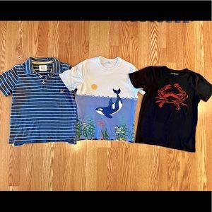 HannaAndersson/MiniBoden/Crewcuts short sleeves